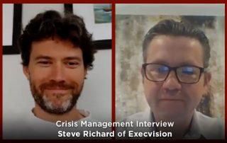 Crisis Management Video - Execvision Interview, Adam Reinebach and Steve Richard