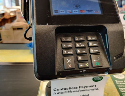 Businesses getting in touch with contactless payments